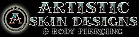 Artistic Skin Design & Body Piercing Logo